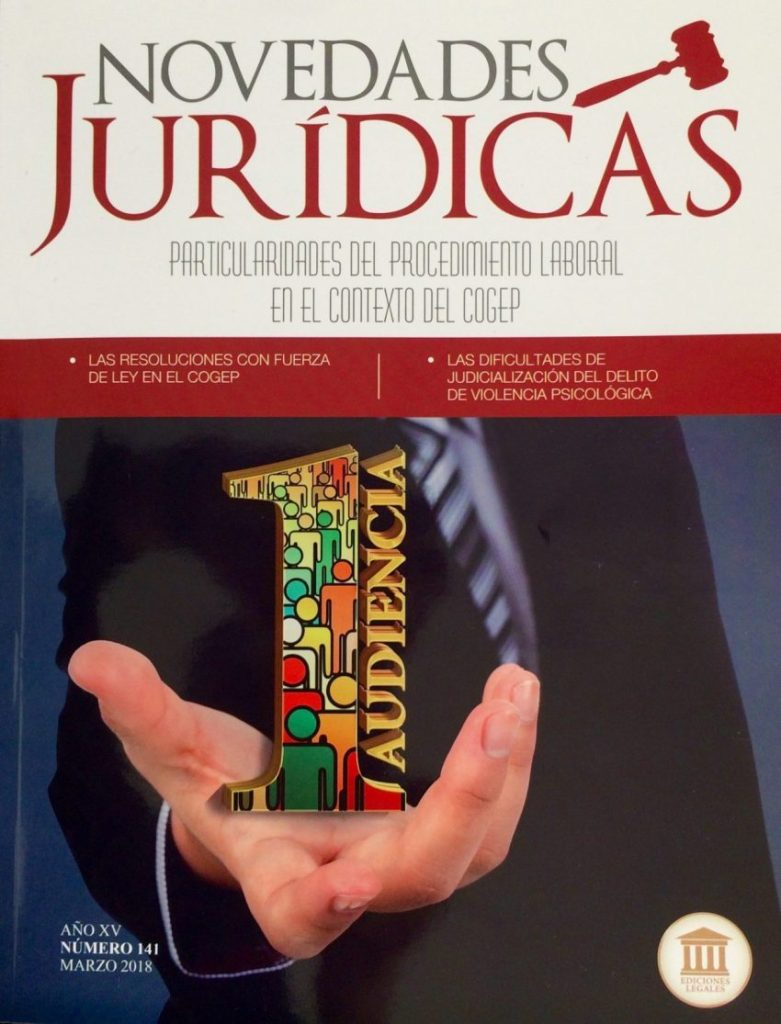 LexAdvisor presente en revista especializada.